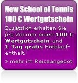 100EuroWertgutscheinderNewSchoolofTennis